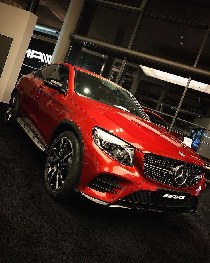 "549 aprecieri, 4 comentarii - Mercedes-Benz Berlin (@mercedesbenzberlin) pe Instagram: ""❤️ Rote Schönheit - das @mercedesamg GLC 43 Coupé.😎 #MBBerlin #MBBeasts . [Mercedes-AMG GLC 43…"""