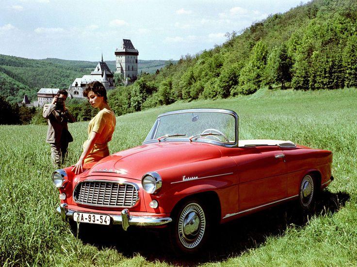 1960 Skoda Felicia.