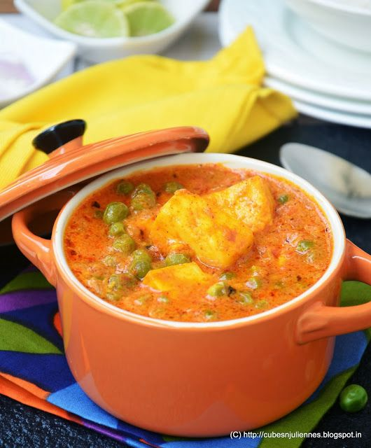 Matar Paneer | Recipes | Pinterest