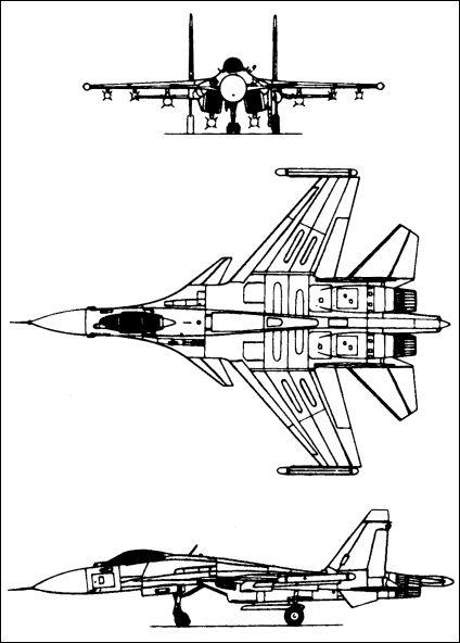 Su 35 Blueprint