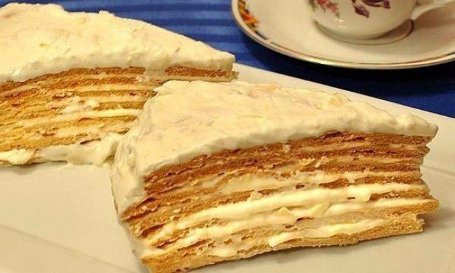 Простой и обалденно вкусный торт «Парижский коктейль»