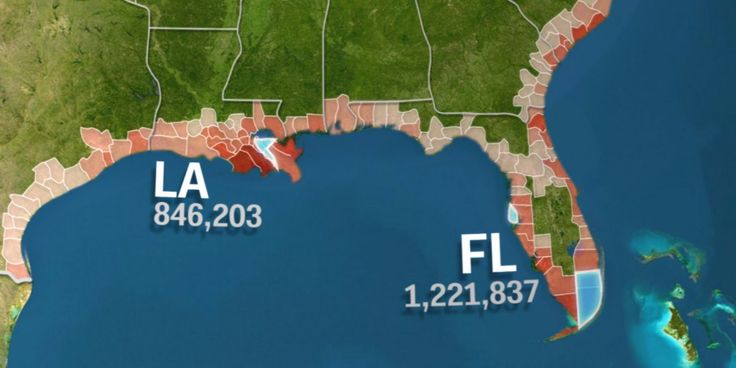 VIDEO: If you live in South Florida, you should start thinking about moving. | 4.2 million Americans could be displaced by rising sea levels this century — see if your county is at risk.