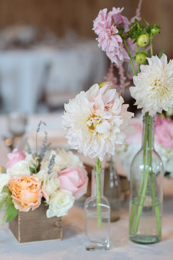 Photography By / http://lauramurrayphotography.com,Wedding Planning, Coordination   Floral Design By / http://lovethisdayevents.com: Floral Centerpieces, Bud Vase, Wedding Plans, Floral Design, Photography Wedding, Flowers In Bottle, Tables Centerpieces, Vase Arrangements, Tables Flowers