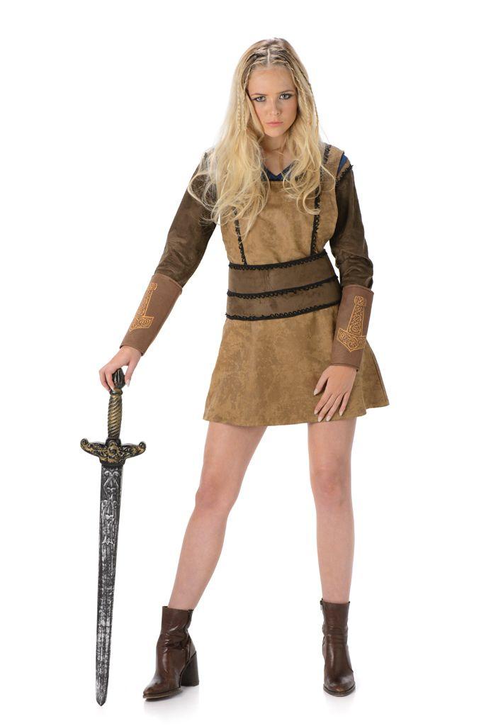 Viking Krijger Kostuum Dames