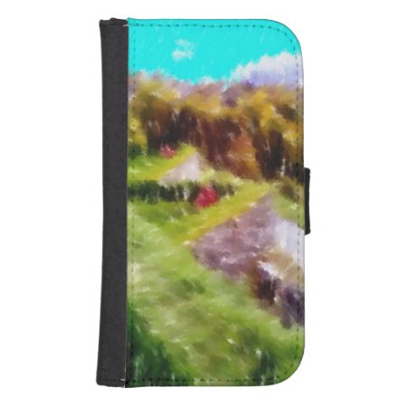 Art of some nature galaxy s4 wallets