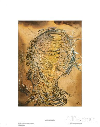 [D] Raphaelesque Head Exploded, Salvador Dali
