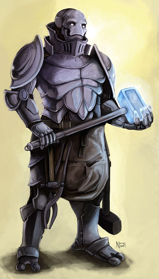 Warforged | Character Ideas | Character Design, Pathfinder ...