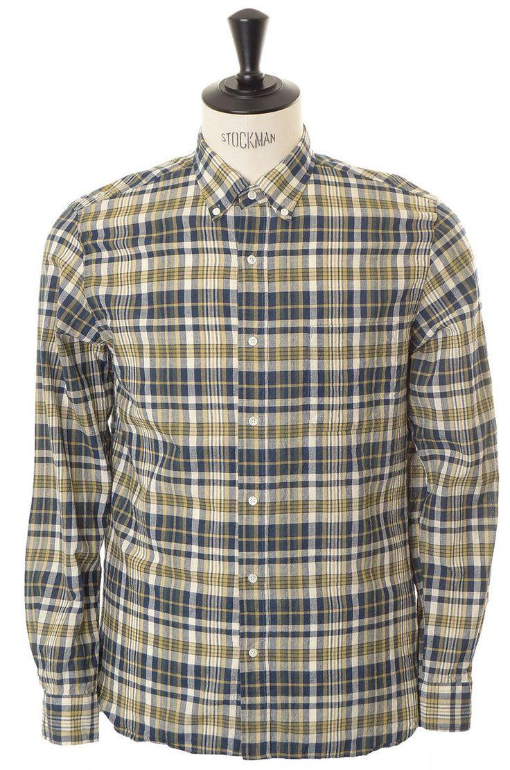 Beams + madras shirt (Made in Japan)