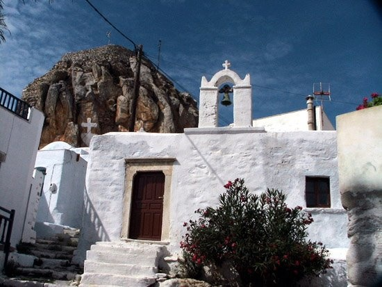 xwra amorgos greece