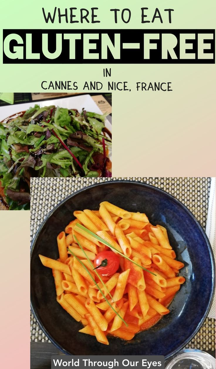 Eat Gluten Free In Cannes And Nice In 2020 Gluten Free Eating Food Europe Gluten Free Restaurants