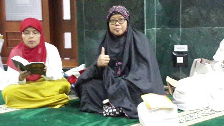 Subbag Kepegawaian di Khotmil Quran BPRD