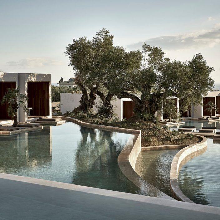 Olea Resort Spa Block722 Architects Mediterranean Architecture Resort Architecture Hotel Architecture