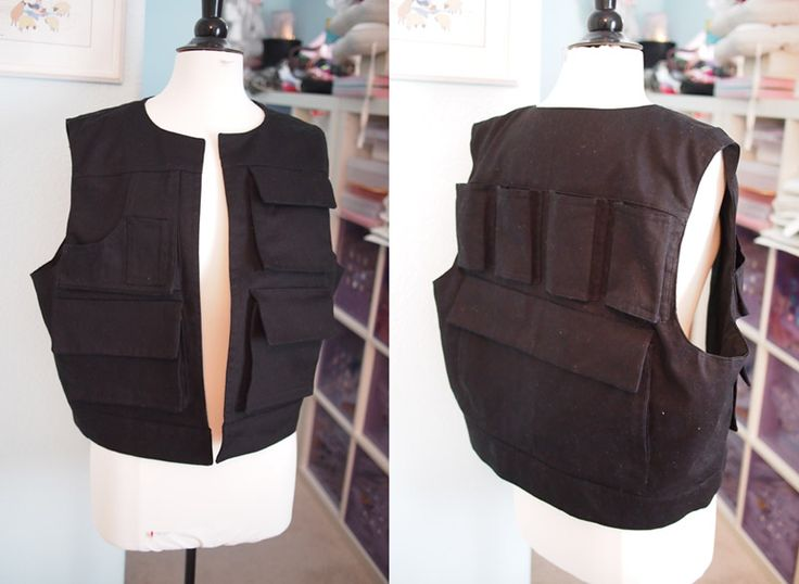 Han Solo vest and slight tutorial.
