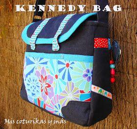 "Mis costurikas y más: Bolso maletín ""Kennedy Bag"""