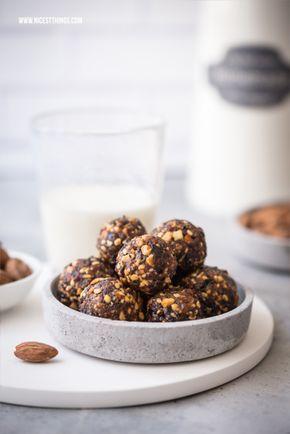 Der perfekte Snack: Energy Balls mit Mandeln & 21-Tage-Challenge