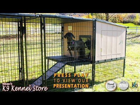 K9 Kennel Store - Dog kennels for sale, the toughest and longest lasting on the market.