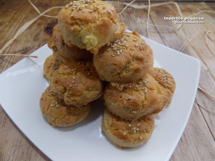 Gluténmentes tepertős pogácsa recept | gluténmentes pogácsa recept