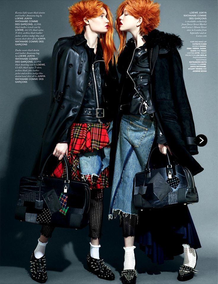Ksenia & Dasha Love Magazine