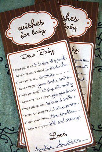 Heirloom Baby Shower: Games and Activities