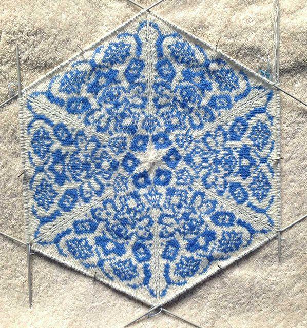 Ravelry: CeruleanSarah's blue tiles