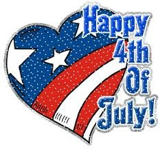 Independence Day - USA - 4th July. Celebrates the adoption of the Declaration of Independence on July 4th 1776.