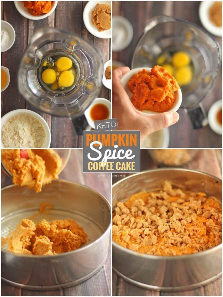 Keto Pumpkin Spice Coffee Cake #pumpkinspiceketocoffee Keto Pumpkin Spice Coffee… – dreamjob