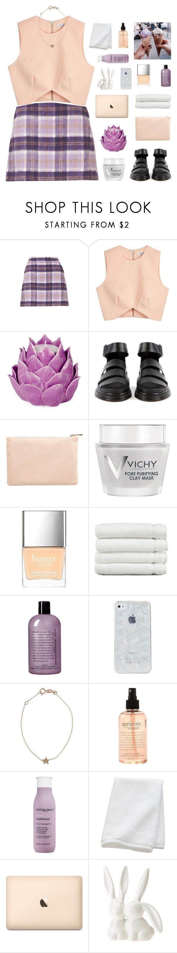 """tell 'em that it's my birthday"" by lucidmoon ❤ liked on Polyvore featuring Topshop, Finders Keepers, Zara Home, Miss Selfridge, Vichy, Butter London, Linum Home Textiles, philosophy, Kismet and Living Proof"