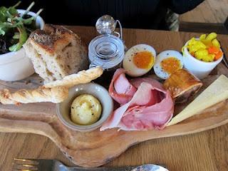 Ploughman's Lunch at the British Larder (Suffolk)