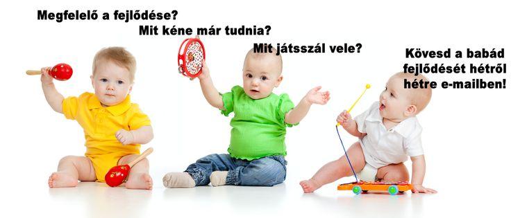 A baba fejlődése hétről hétre — Kismamablog