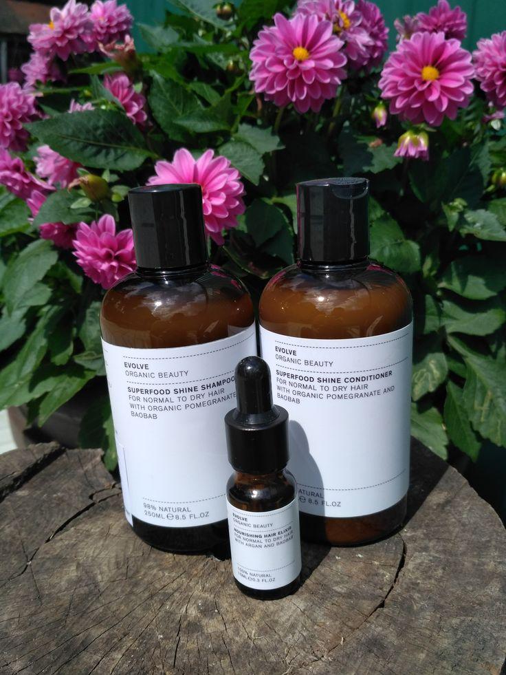 Evolve Organic Beauty - шампунь, кондиционер, эликсир для всех типов волос