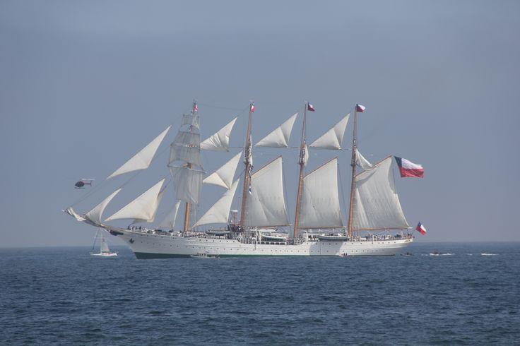 Buque Escuela Esmeralda, Viña del Mar, Chile