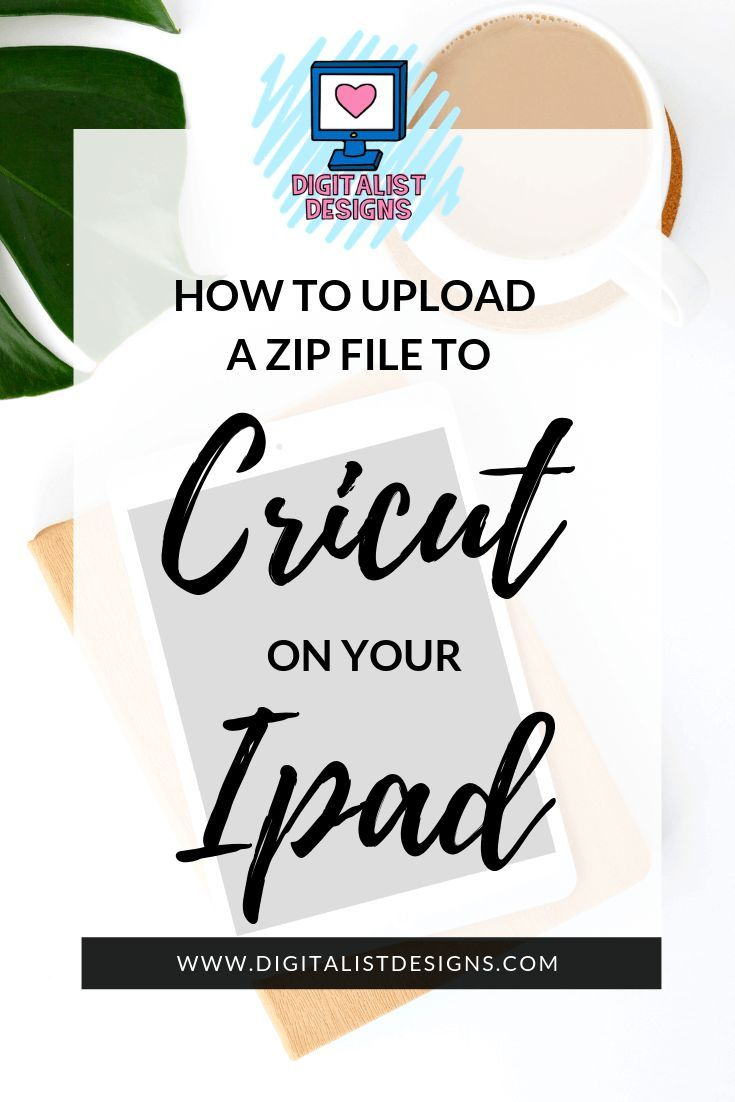 How to Unzip and Upload Files to Cricut on Your Ipad