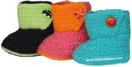 Prendas tejidas a crochet para bebes!