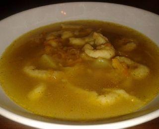 Kmínová polévka s žížalky - krok 1