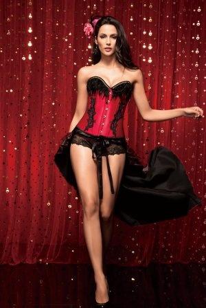 Moulin Rouge Lace Up Bustier