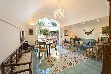 Vivere Sala da pranzo Napoli Anacapri Appartamento