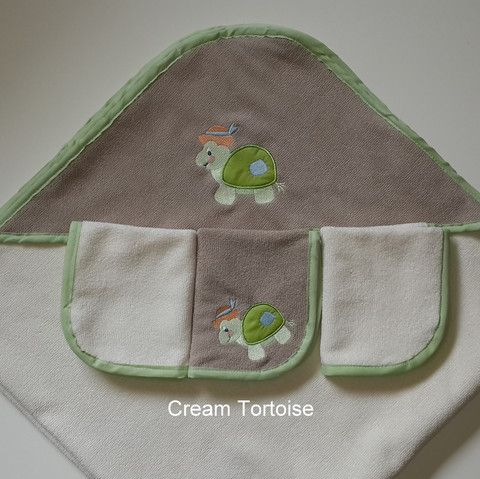 Extra Large Hooded Baby Towels (100cm x 100cm) - Eco Nappy Solutions