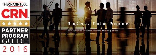 #CRN Gives RingCentral #Partner Program a 5-Star Rating in 2016 Partner Program Guide // #Business #Award #PartnerProgram #Reseller