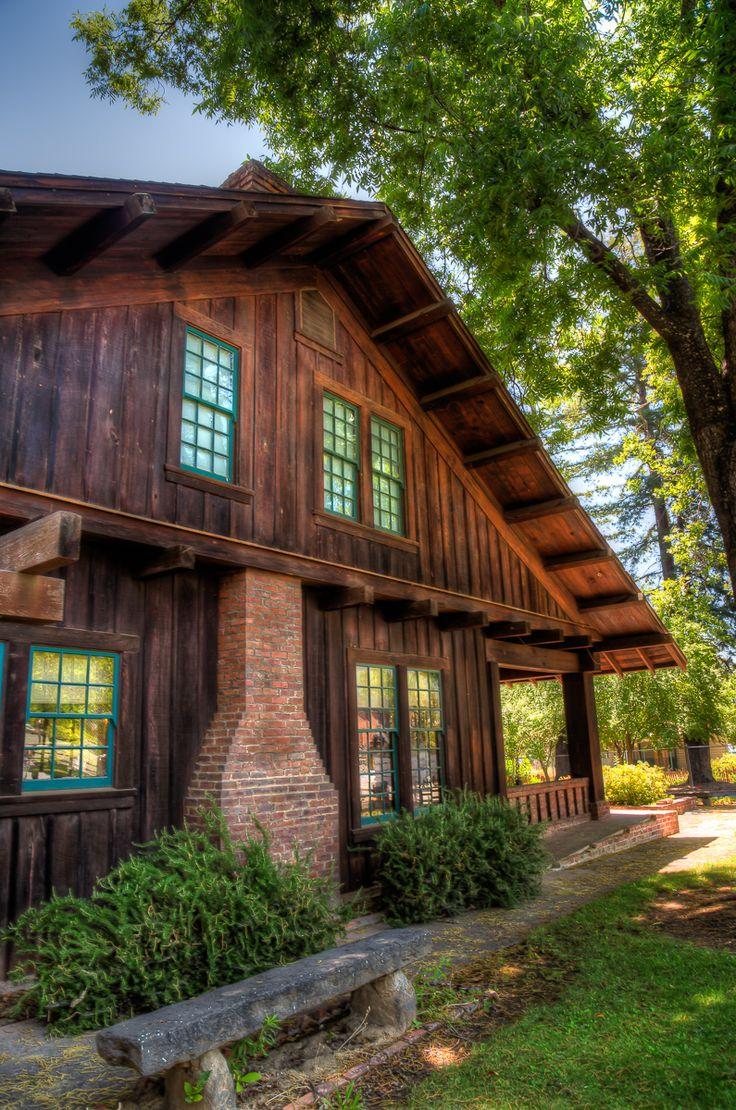 The Sun House at the Grace Carpenter Hudson Museum in Ukiah, California