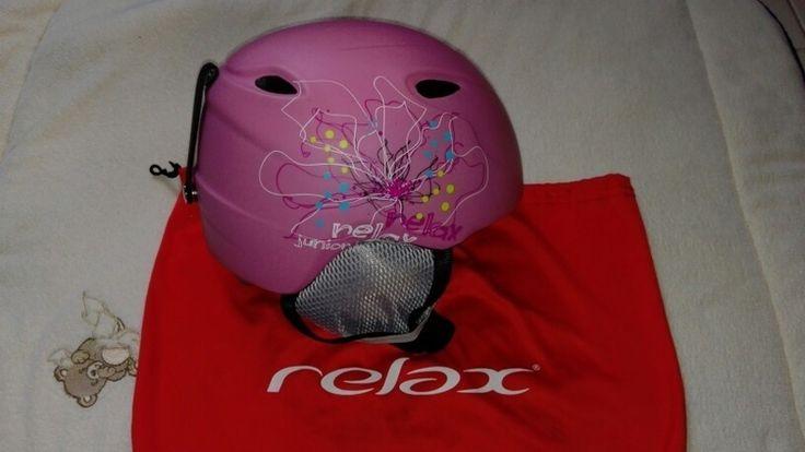 Dětská lyžařská helma Relax se štelovacím kolečkem