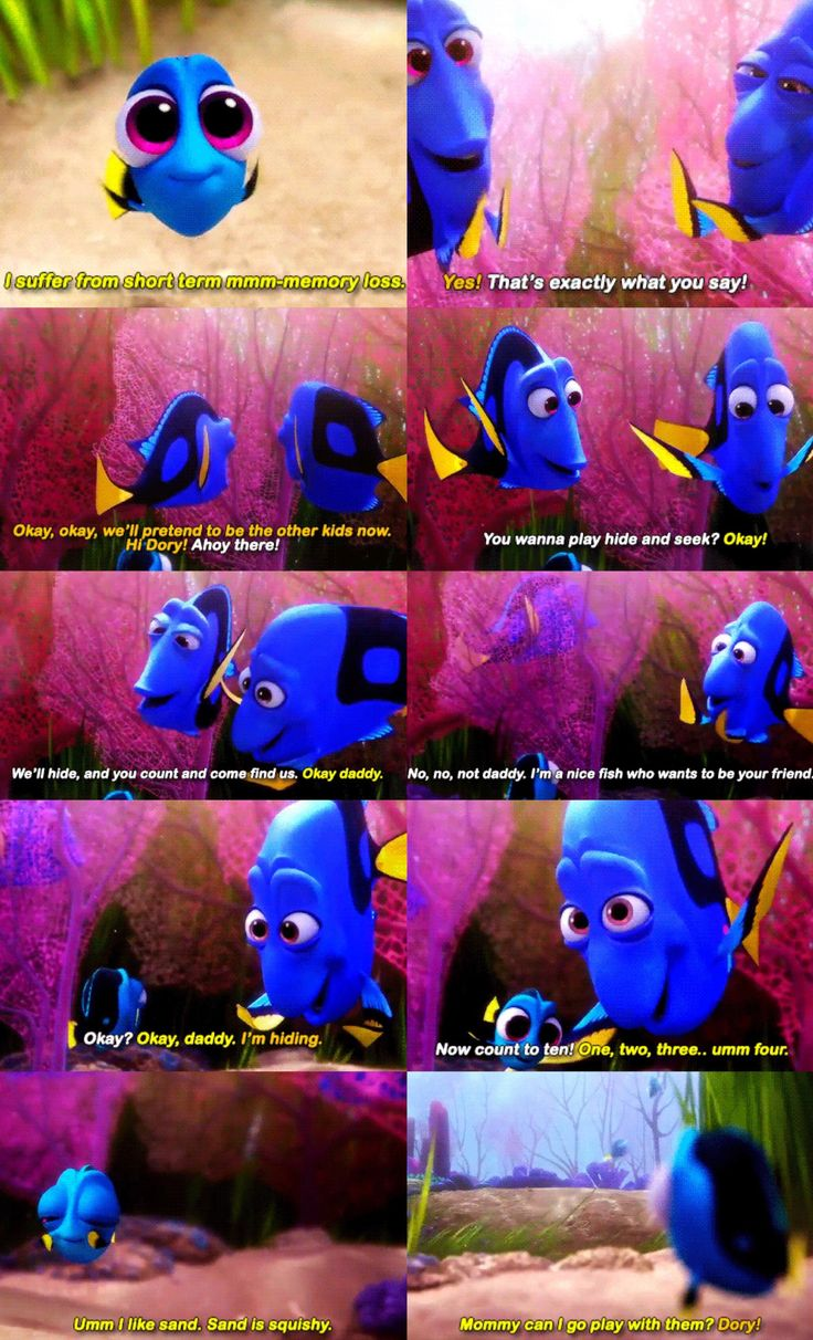 Baby Dory is the best thing ever!