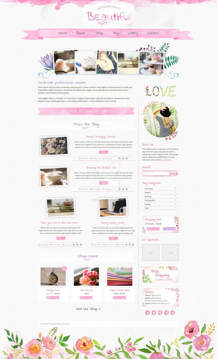 13 best Blog-Based Genesis Themes images on Pinterest | Wordpress ...