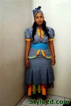 Ethnic Ideas Simple Shweshwe Dresses img5e198890eb231f04c