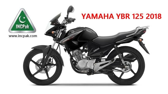 Yamaha YBR 125 2018 Launched in Pakistan | INCPak - Sports | Yamaha