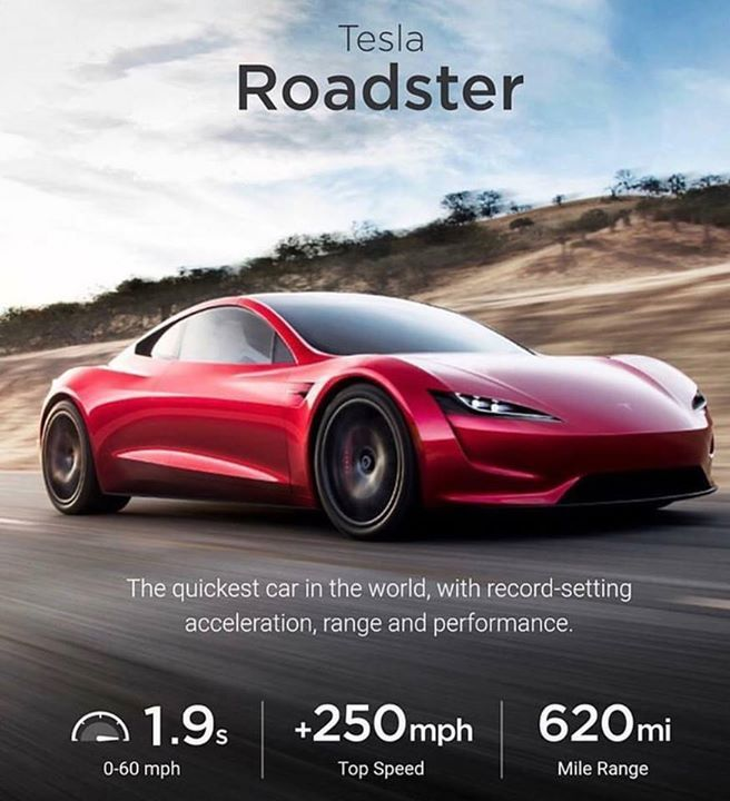 The new Tesla Roadster with some crazy specs! Hot or Not? The new Tesla Roadster with some crazy specs! Hot or Not?             (adsbygoogle = window.adsbygoogle || []).push();     The new Tesla Roadster with some crazy specs! Hot or Not? Source