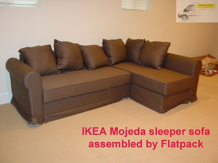 ikea nockeby sofa assembled by flatpack assembly