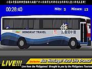 Ostatici in autobuz care trebuiesc salvati impuscand teroristi.
