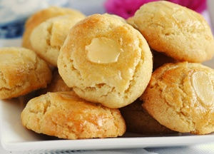 Biscoitos de Laranja com Amêndoa