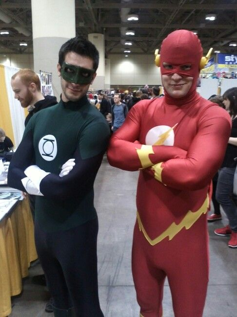 Green Lantern & The Flash Toronto Comicon/FanExpo photo by Shane C