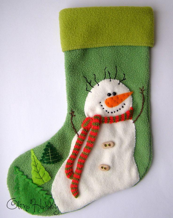 носок для подарков, новогодний носок, декоративные носки для подарков, новогодний сапожок